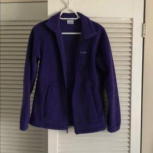 Like New! Columbia purple fleece